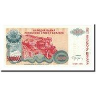 Billet, Bosnia - Herzegovina, 5 Million Dinara, 1993, KM:143a, NEUF - Bosnia Y Herzegovina