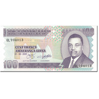 Billet, Burundi, 100 Francs, 2001, 2001-08-01, KM:37c, NEUF - Burundi