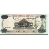 Billet, Nicaragua, 100,000 Córdobas On 500 Córdobas, 1987, Undated (1987) - Nicaragua