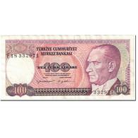 Billet, Turquie, 100 Lira, 1989, Old Date 1970-10-14, KM:194b, SPL - Turkey