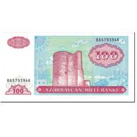 Billet, Azerbaïdjan, 100 Manat, 1993, Undated (1993), KM:18b, SPL+ - Azerbaïdjan