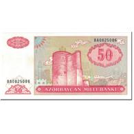 Billet, Azerbaïdjan, 50 Manat, 1993, Undated (1993), KM:17b, NEUF - Azerbaïdjan