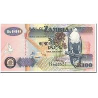 Billet, Zambie, 100 Kwacha, 2009, Undated (2009), KM:38h, NEUF - Zambie