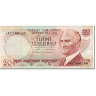 Billet, Turquie, 20 Lira, 1987, Old Date 1970-10-14, KM:187b, SUP - Turkije