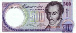 VENEZUELA 500 BOLIVARES 1990 P-67d UNC 31.5.1990 [VE067d] - Venezuela