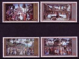 VATIKAN MI-NR. 1411-1414 ** RESTAURIERUNG SIXTINISCHE KAPELLE (III) - Vatican