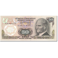 Billet, Turquie, 50 Lira, 1987, Old Date 1970-10-14, KM:188, NEUF - Turkije