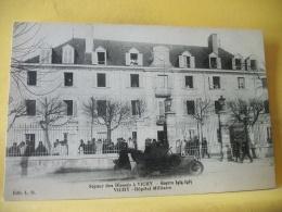 L2 9493 CPA - 03 SEJOUR DES BLESSES A VICHY. GUERRE 1914-1915. VICHY. HOPITAL MILITAIRE - ANIMATION - Militaria
