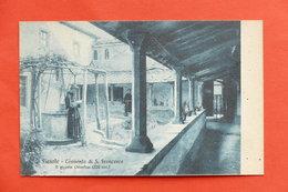 Cartolina Fiesole - Convento Di S. Francesco - Il Piccolo Chiostro - 1910 Ca. - Firenze