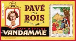 BUVARD Pain D'Epices VANDAMME 94 CHOISY-Le-ROI - Pavé Des Rois - SAINT-LOUIS - Gingerbread
