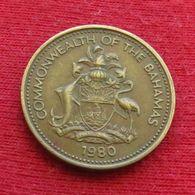 Bahamas 1 Cent 1980 KM# 59 Bahama - Bahamas