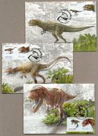 Portugal - Maximum Cards - Dinosaurs 2015 - Maximum Cards & Covers
