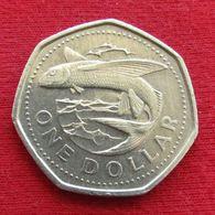 Barbados 1 Dollar 1988 KM# 14.2 Barbade Barbades - Barbados
