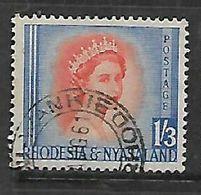 Rhodesia & Nyasaland, WANKIE 1961 C.d.s. - Rhodesia & Nyasaland (1954-1963)