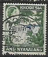 Rhodesia & Nyasaland, ZOMBA.. 8 SEP 60c.d.s. - Rhodesia & Nyasaland (1954-1963)