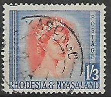 Rhodesia & Nyasaland, KASUNGU 2 MY 60  C.d.s. - Rhodesia & Nyasaland (1954-1963)