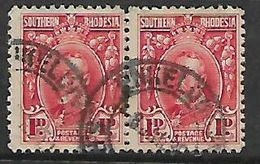 Southern Rhodesia ENKELDOORN 8 JA 03 C.d.s. - Southern Rhodesia (...-1964)