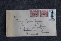 Lettre D'ESPAGNE ( GERONA) Vers FRANCE. - 1931-Hoy: 2ª República - ... Juan Carlos I