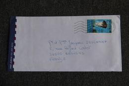 Lettre De NOUVELLE CALEDONIE Vers FRANCE - Cartas