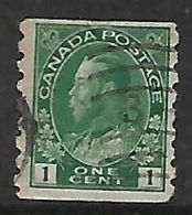 Canada, George V, 1912 -1921,1c Imperf X 8 Used - 1911-1935 Reign Of George V