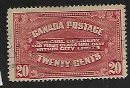 Canada, George V, 1922, 20c Special Delivery, Used - 1911-1935 Reign Of George V