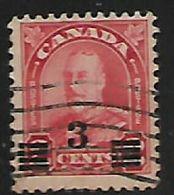Canada, George V, 1932, 3c / 2c, Die I, Used - 1911-1935 Reign Of George V