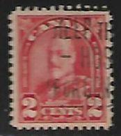 Canada, George V, 1930 2c, Scarlet  Die I, Used - 1911-1935 Reign Of George V