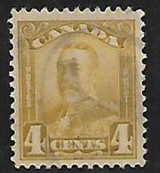 Canada, George V, 1924, 4c Olive-bistre,  Used - 1911-1935 Règne De George V