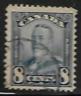 Canada, George V, 1928, 8c Blue,  Used - 1911-1935 Reign Of George V