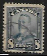 Canada, George V, 1928, 8c Blue,  Used - 1911-1935 Règne De George V