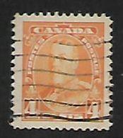 Canada, George V, 1935, 4c Yellow,  Used - 1911-1935 Règne De George V