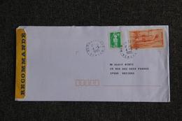 Lettre Recommandée De POUZAUGUES Vers  BEZIERS - France