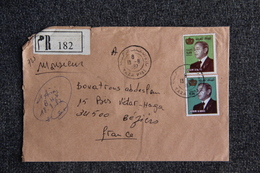 Lettre Recommandée Du MAROC ( TAZA ) Vers FRANCE ( BEZIERS) - Morocco (1956-...)