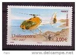 FRANCE-P.A.N°70** HELICOPTERE - Poste Aérienne