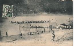 H69 - LAOS - Courses De Pirogues - Le Départ - Laos