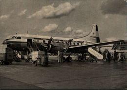 ! Flughafen Hamburg, KLM, Convair 240, Propliner, Propellerflugzeug, Airplane - 1946-....: Moderne