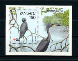 VANUATU 1991 Bloc  N° 18 **  Neuf MNH Superbe Cote 5 € Faune Oiseaux Birds Fauna Philanippon - Vanuatu (1980-...)