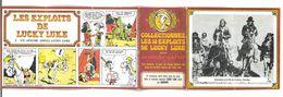 LES EXPLOITS DE LUCKY LUKE N°2 UN APACHE APPELE LUCKY LUKE PUB AVEC LA VACHE QUI RIT - Livres, BD, Revues