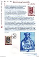 """ BIBLIOTHEQUE HUMANISTE DE SELESTAT "" Sur Document Philatélique Officiel De 2007. N° YT 4013. DPO - Documenten Van De Post"