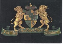 Posthausschild Thurn Und Taxis - Oberpostamt Frankfurt Am Main   -  **AK-06-549** - Cartes Postales