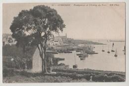 CPA AUDIERNE Poulgoazec Et L' Entrée Du Port - Audierne