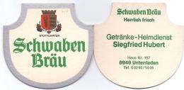 #D197-131 Viltje Schwaben Bräu (type J) - Sous-bocks