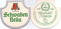 #D197-143 Viltje Schwaben Bräu - Sous-bocks