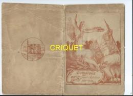 Militaria, Guerre 14-18, Rare Livret De L'historique Du 87ème Régiment D'Infanterie - Libri, Riviste & Cataloghi