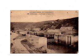 Saint-Brieuc. Les écluses Du Bassin A Flot. - Saint-Brieuc
