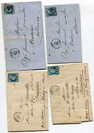 MARNE De REIMS PC 2642 Sur N°14 Sur 4 LAC - 1849-1876: Periodo Classico