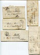 MARNE De REIMS Taxe Tampon 25 Sur 5 LAC - 1849-1876: Periodo Classico