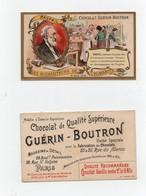 CHROMO Chocolat Guérin- Boutron Champenois Les Bienfaiteurs De L'humanité Raspail Médecin Hygiène - Infantes