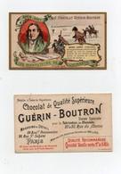 CHROMO Chocolat Guérin- Boutron Champenois Les Bienfaiteurs De L'humanité Baron Larrey Chirurgien Grande Armée Napoléon - Infantes