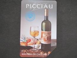 PICCIAU ITALIAN WINE MALVASIA OF CAGLIARI - USATA PERFETTA QUALITA' FIOR DI STAMPA - Alimentazioni